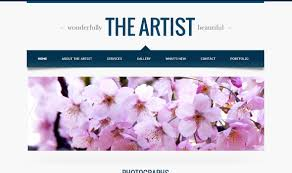 Google Site Templates The Artist A Google Sites Template For Minimalism With