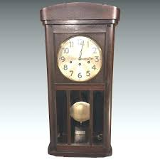 chime wall clock vintage wall clock with chimes runs strikes chimes citizen chime wall chime wall