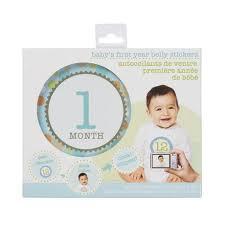 Stepping Stones Babys First Year Boy Belly Sticker