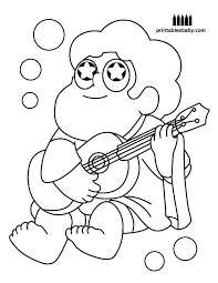 Steven Universe Coloring Pages O6310 Universe Coloring Pages Free