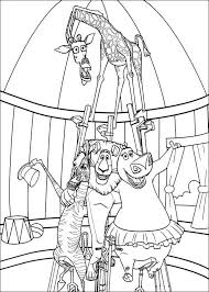 Madagascar 3 Circus Coloring Pages