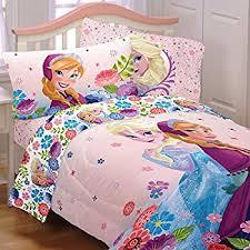 Amazon.com: NEW! Disney Frozen Full Size Nordic Frost Bedding Set ... & 5 Piece Full Size Frozen Bedding Set Includes 4pc Full Sheet Set And T/Full Adamdwight.com
