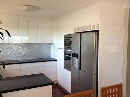 Black Splashback Kitchen 2 Pack Kitchen Gallery All Kitchens Pty Ltd