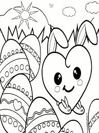 Kleurplaten Voor Pasen