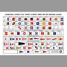 The table below contains phonetic symbols used in various english dictionaries and their audio pronunciation (mp3 format). International Signal Flags Us Navy 1956 Etsy