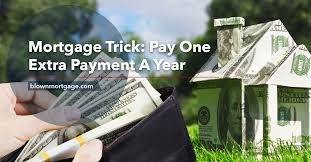 Mortgage Extra Payment Mortgage Trick Pay One Extra Payment A Year