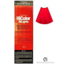 Loreal Excellence Hicolor Red Hilights For Dark Hair Only