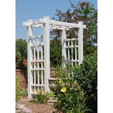Asian arches with trellis