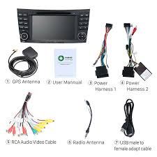 seicane s127501 quad core android 5 1 1 radio gps system for  at 2006 Mercedes Cls500 Bluetooth Wiring Diagram