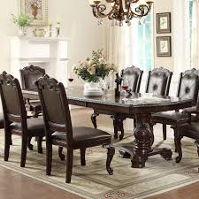 crown mark kiera dining table