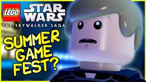 LEGO Star Wars: The Skywalker Saga | GAMEPLAY AT SUMMER GAME FEST & INSIDE  XBOX? - YouTube