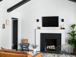 modern black and white furniture.  white black and white midcentury modern living room with vault ceiling for and furniture