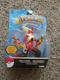 TOMY Pokemon Mega Blaziken Articulated Action Figure - NEW SEALED for sale  online