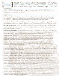 Double Major Resume Efficient Portray Resume 4 100 Public