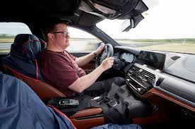 2018 bmw m5. plain 2018 2018 bmw m5 prototype cockpit matt saunders with bmw m5