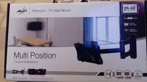 multi position tv wall mount support multipositions avf 25 32 in 63 81