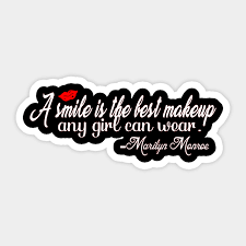 a smile is the best makeup any can