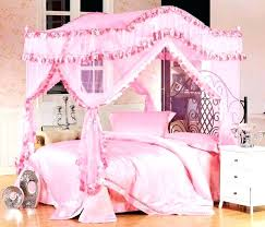 Nice Girls Twin Bedroom Furniture Smart Kids Canopy Bed Sets Girl Intended For  Idea 4 ...