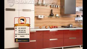 Kitchen Set Harga Kitchen Set Aluminium Composite Panel 081389424220 Youtube