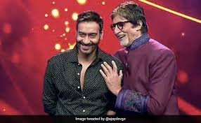 Ajay Devgn To Direct Amitabh Bachchan In New Film Titled Mayday. Details  Here