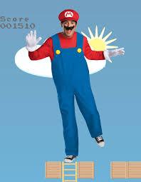 Charming Menu0027s Mario Costume