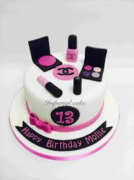 chanel makeup case cake daily