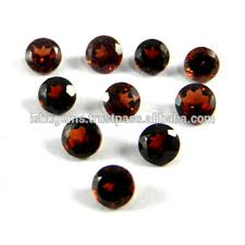 Handmade 10 Pcs Red Garnet From Mozambique 3 3 Cts Round Cut 4mm Semi Precious Stones For Jewelry Ig2794 Buy Semi Precious Stones Chart Rough Semi