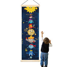 Buy Panda_mall Solar System Baby Height Growth Chart Ruler