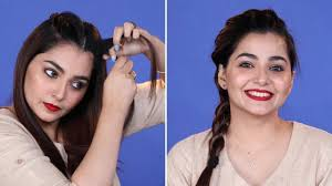 5 minutes diy hairstyle for office in hindi everyday simple hairstyle for work be beautiful glam