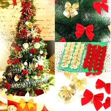 diy bow tree topper decoration supplies party bows gift toy