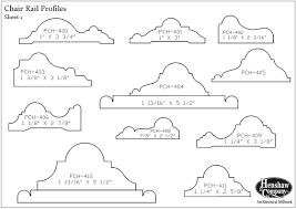 chair rail profiles. Chair Rail Profiles R
