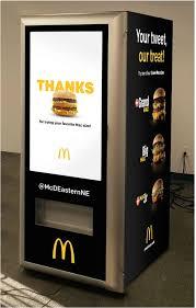 Mastercard Priceless Surprises Vending Machine Amazing McDonald's Crea Una Vending Machine Que Regalará Big Macs Vending