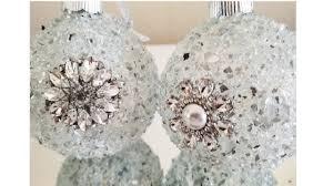 diy crystal bling ornaments