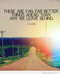 leave behind quote wallpaper with a road