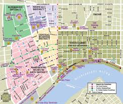 downtown new orleans map rangermapwithdowntownon