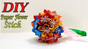How To Make Origami Paper Flower How To Make Origami Paper Flower Wedding Bouquet Craft