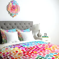 decoration girl comforter set fashionable colorful teen vogue bedding on white mattress also twin