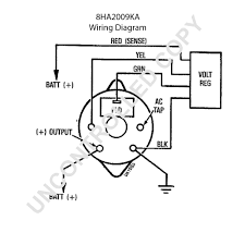 Delco remy wire alternator wiring diagram diagrams gm prong
