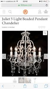 used juliet chandelier from the range in rg45 crowthorne for 25 00 shpock