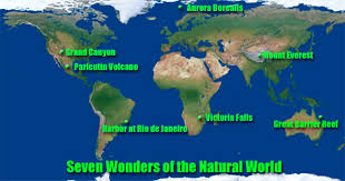 the seven wonders of the natural world  them are astounding examples of ecological wonders other organizations have made up lists of the marvels of mother nature but here we present for you