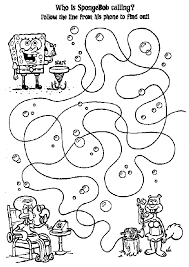 Small Picture Pudgy Bunnys SpongeBob SquarePants Coloring Pages