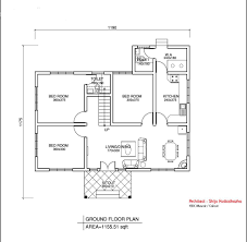Simple Floor Plans For Homes On Floor With Rough Plan Of The House Simple Floor Plan