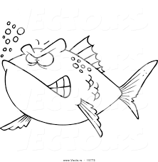1024x1044 coloring stingray coloring page vector of a cartoon mad fish