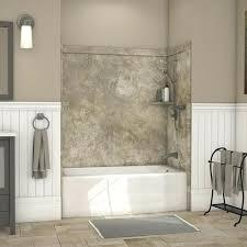glue up shower walls how