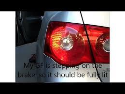 how to change brake light bulbs on