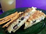 babs  black bean grilled cheese sandwich