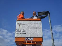 Good Straßenbeleuchtung In Der Gemeinde Hausen Am Bussen