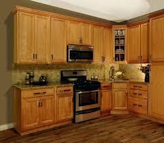 stunning kitchen paint colors with honey oak cabinets granite countertops maple dark wood floors