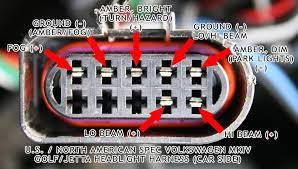 vwvortex com mk4 headlight wiring diagram