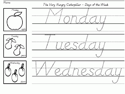 Kids. writing sheets: Kindergarten Writing Worksheets Learning To ...